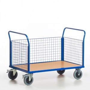 Gitter-Dreiwandwagen