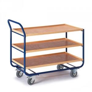 Tischwagen 20 mm Randhöhe (3 Etagen)