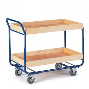 Tischwagen 80 mm Randhöhe (2 Etagen)
