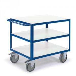 Tischwagen mit 3 Ladeflächen