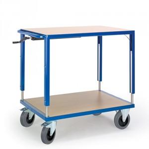 Höhenverstellbarer Tischwagen