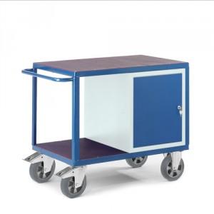 Schwerlast-Werkstattwagen mit Stahlschrank