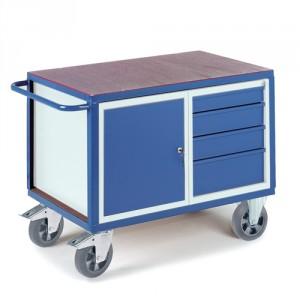 Schwerlast-Werkstattwagen Stahl- Schubladenschrank
