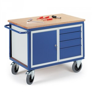 Werkstattwagen mit Stahl- Schubladenschrank