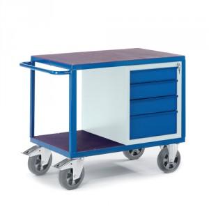 Schwerlast-Werkstattwagen mit Schubladenschrank