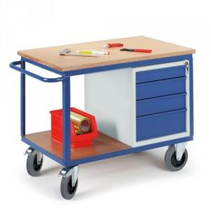 Werkstattwagen mit Schubladenschrank