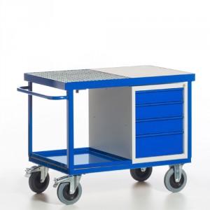 Umwelt-Werkstattwagen mit Schubladenschrank