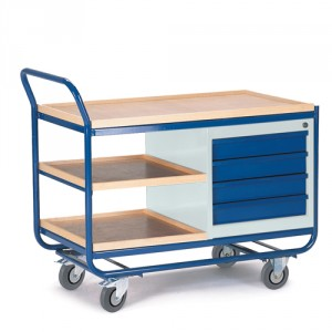 Montagewagen mit Schubladenschrank