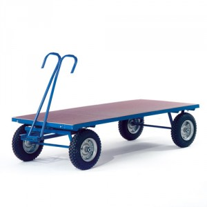 Handpritschenwagen ohne Bordwände (hohe Tragkraft)
