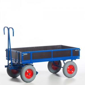 Handpritschenwagen mit Holzbordwänden