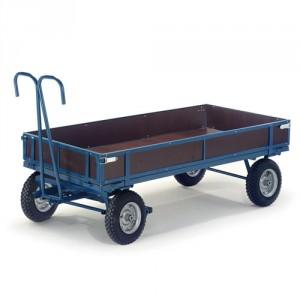 Handpritschenwagen mit Holzbordwänden (hohe Tragkraft)