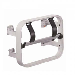 Papierabroller für Rollenbreite 300 mm, mit glattem Schneidmesser