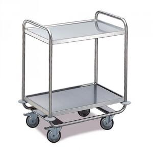 Tischwagen 2 Etagen - Schwere Ausführung