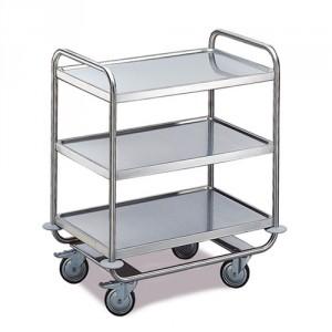 Tischwagen 3 Etagen - Schwere Ausführung