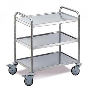Tischwagen 3 Etagen - Standard Ausführung