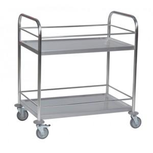 Tischwagen mit umlaufendem Geländer